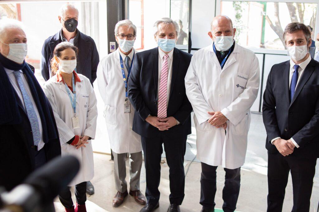 Inauguración del Hospital Solidario COVID Austral | Salud y Bienestar